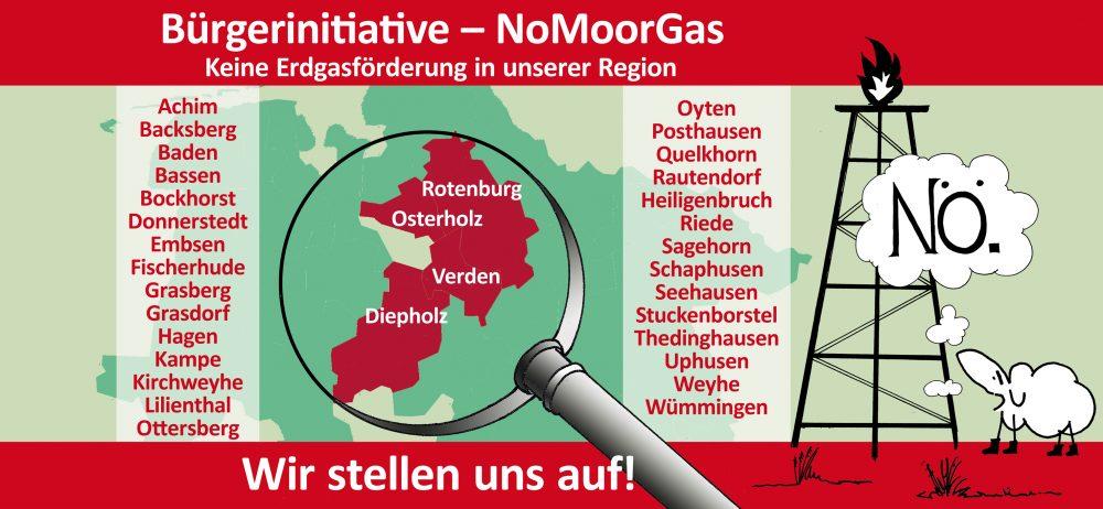 Bürgerinitiative – NoMoorGas